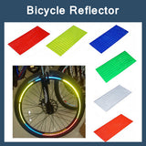8pcs/pack Reflective Stickers Bike