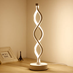 2018 LED Spiral Modern Table Light
