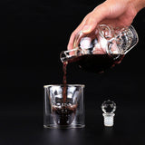Skull Whiskey Decanter & Shot Set