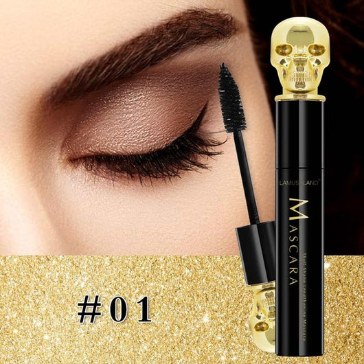 Skull Eye Mascara Makeup