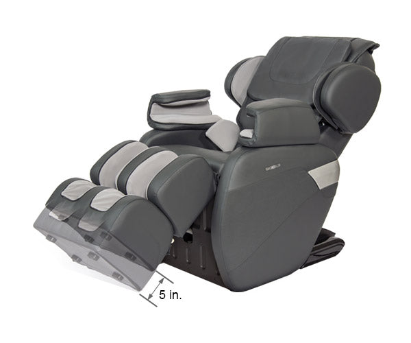 Relaxonchair MK-II Gray Dimension Foot Extension