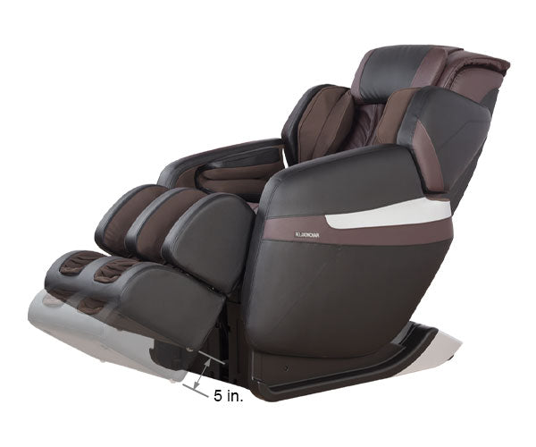 Relaxonchair MK-Classic Brown Dimension Foot Extension