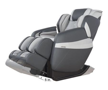 Relaxonchair MK-Classic Gray Dimension Foot Extension