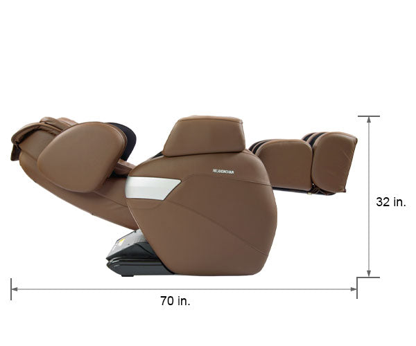 Relaxonchair MK-II Brown Dimension Reclined