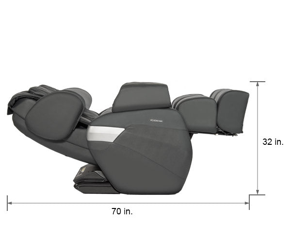 Relaxonchair MK-II Gray Dimension Reclined