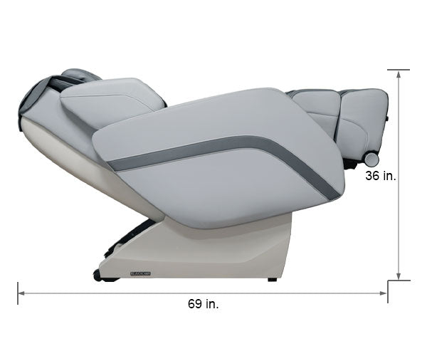 Relaxonchair MK-V Gray Dimension Reclined