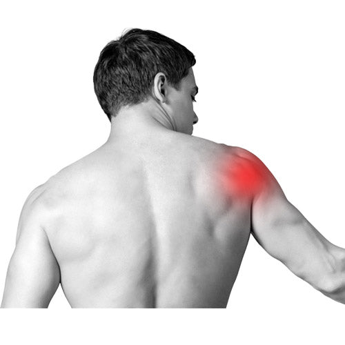 shoulder pain and massage chair