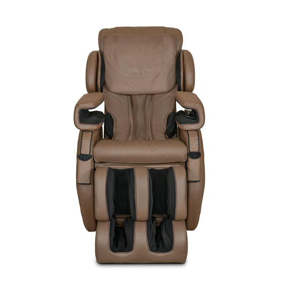 MK-II Plus Massage Chair Chocolate - Front View