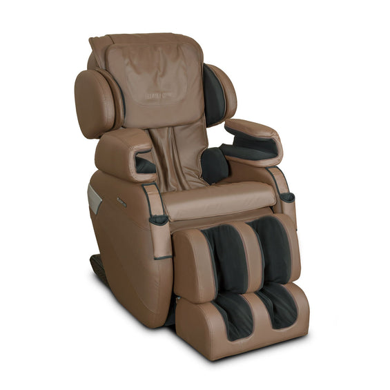 MK-II Plus Massage Chair Chocolate - Front Side