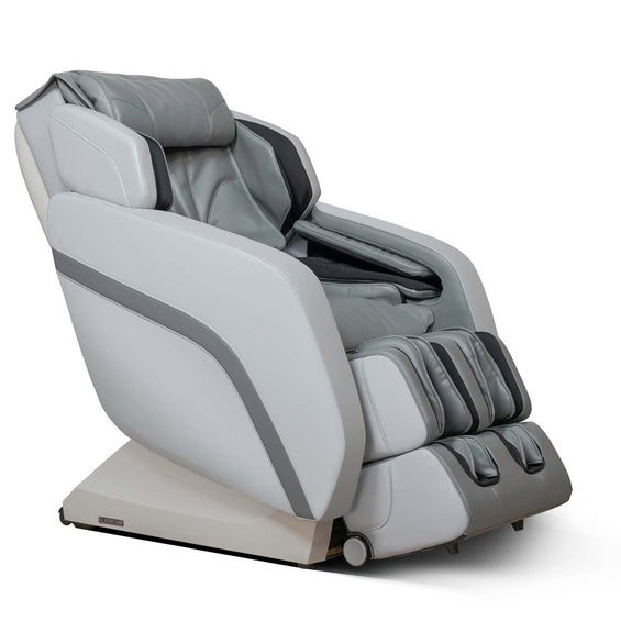 MK-V Plus Massage Chair Gray - Half-Side View
