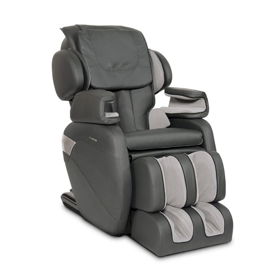 MK-II Plus Massage Chair Charcoal - Half-Side View 2