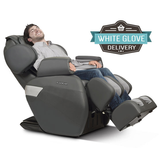 MK-II Plus Massage Chair Charcoal - White Glove Delivery