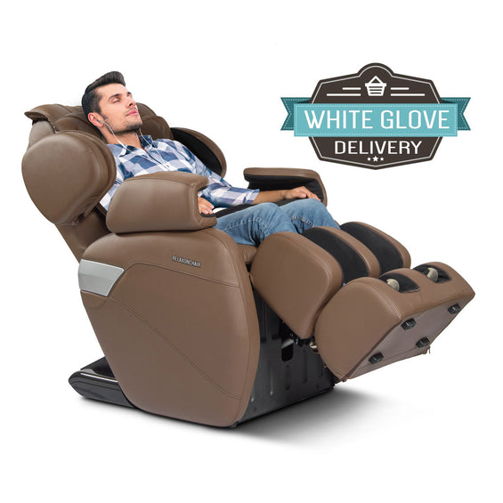 MK-II Plus Massage Chair Chocolate - White Glove Delivery