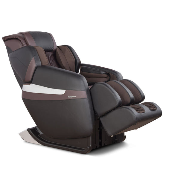 MK-Classic Massage Chair Brown - Side View 2