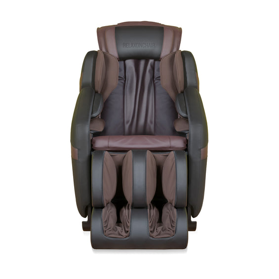 MK-Classic Massage Chair Brown - Front View
