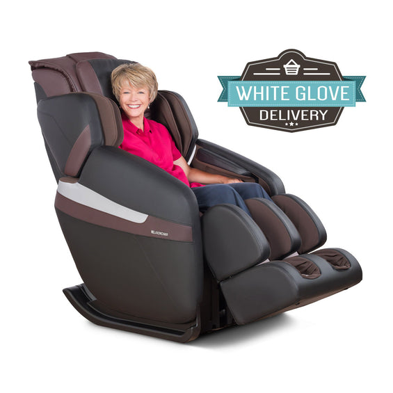 MK-Classic Massage Chair Brown - White Glove Delivery