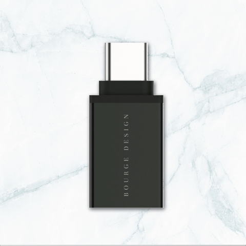 Bourge Design Store Tech USB-C to USB 3.0 Adapter