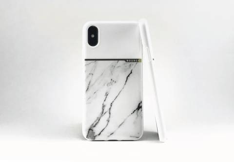 Bourge Design White Marble Bourge Marble iPhone X Case