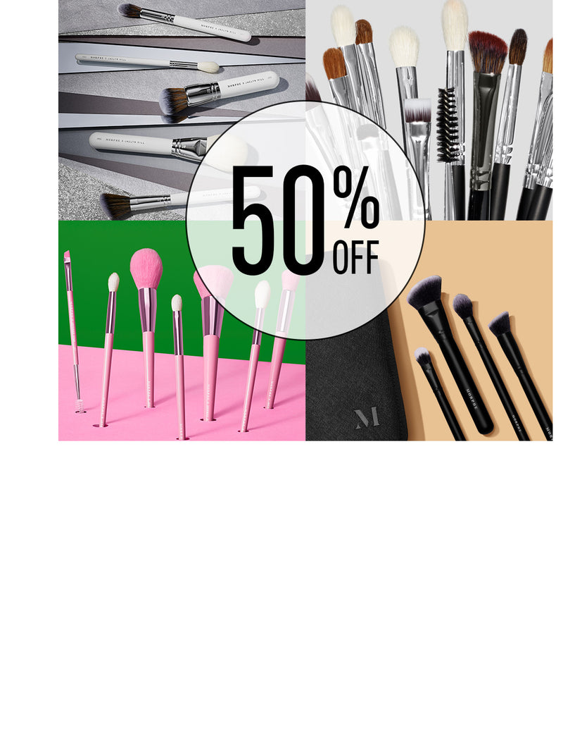 50% Off Morphe X Jaclyn Hill The Complexion Master Collection, Morphe X James Charles The Eye Brush Set, The Jeffree Star Eye & Face Brush Collection, Perfect Angle Brush Collection