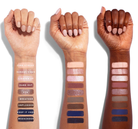 9S SO CHILL ARTISTRY PALETTE ARM SWATCHES