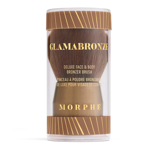 GLAMABRONZE DELUXE FACE & BODY BRONZER BRUSH PACKAGING