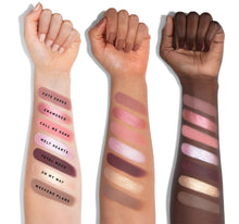 35C EVERYDAY CHIC ARTISTRY PALETTE ARM SWATCHES