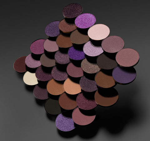 35P PLUM PLEASERS ARTISTRY PALETTE SWATCHES