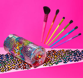MORPHE X LISA FRANK BLEND BRIGHT BRUSH SET