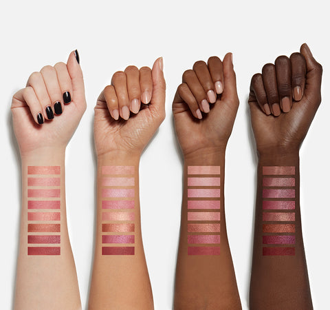 8C COOL PRO BLUSH PALETTE ARM SWATCHES