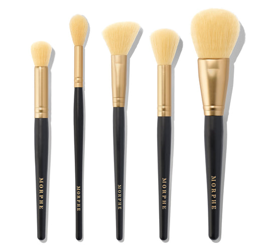 COMPLEXION CREW 5-PIECE BRUSHES