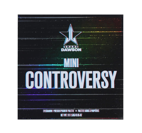 MINI CONTROVERSY EYESHADOW/ PRESSED PIGMENT PALETTE PACKAGING