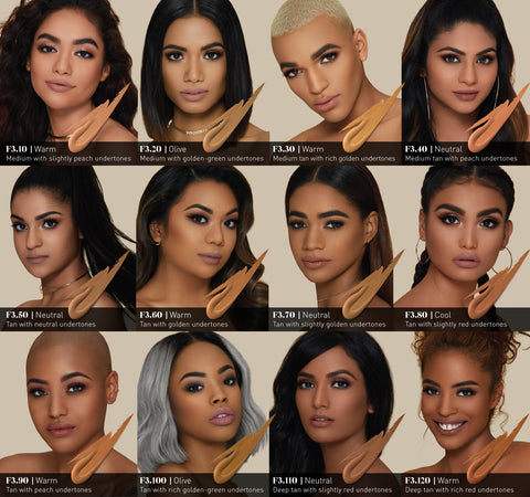 FLUIDITY FULL-COVERAGE FOUNDATION - F3.20 ON MODELS