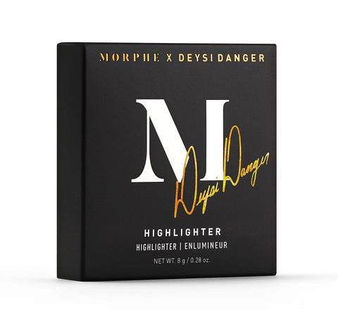 MORPHE X DEYSI DANGER HIGHLIGHTER PACKAGING