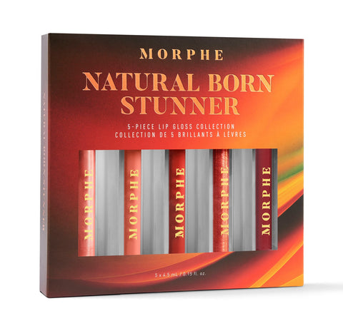 NATURAL BORN STUNNER LIP GLOSS COLLECTION PACKAGING