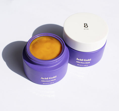 ACID GOLD AHA RESURFACING FACE MASK
