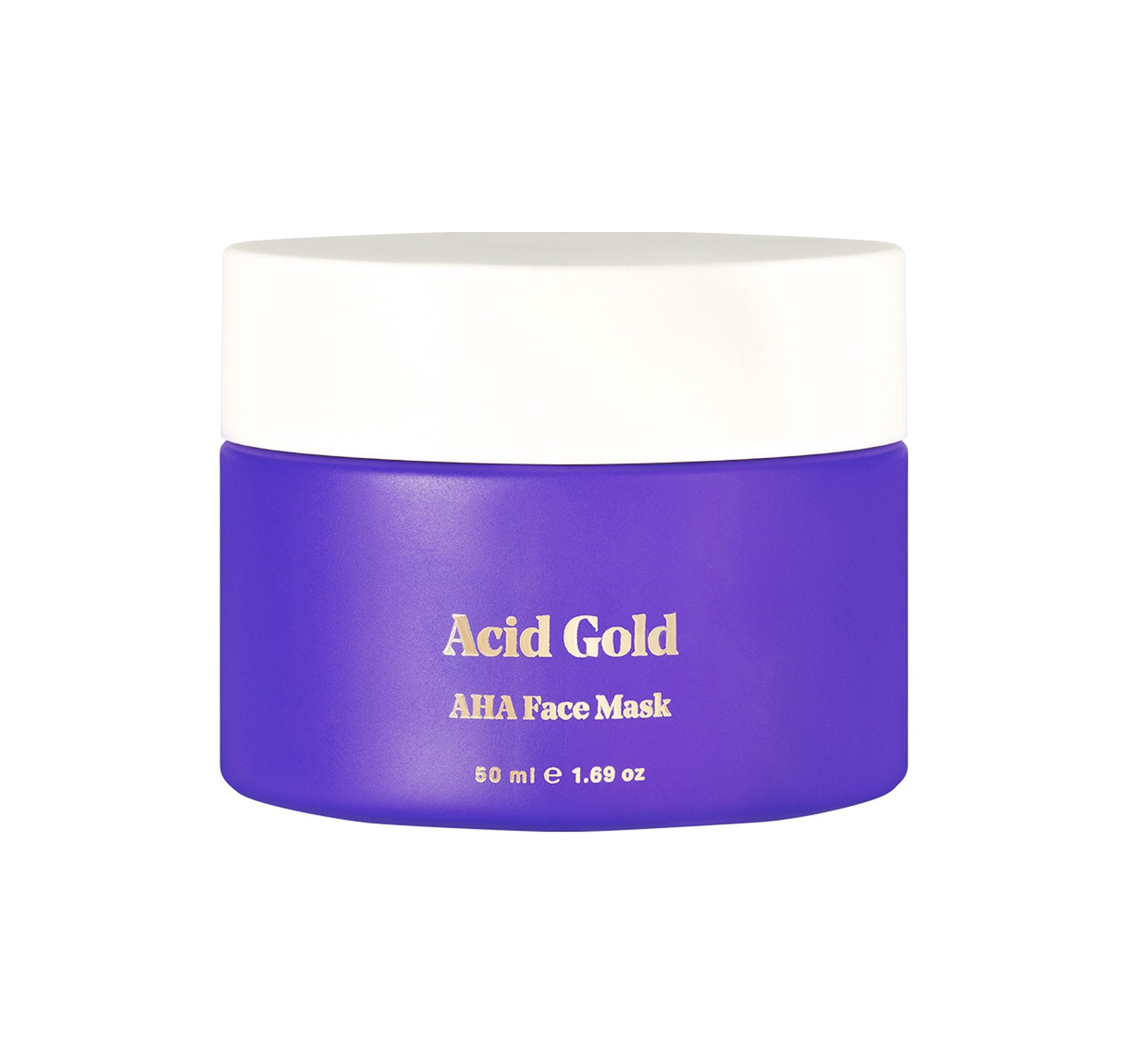 ACID GOLD AHA RESURFACING FACE MASK, view larger image