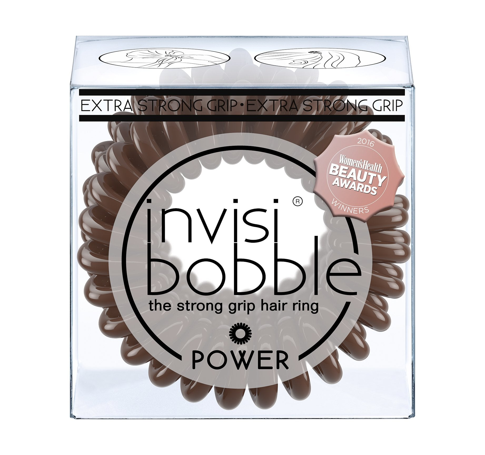 INVISIBOBBLE® POWER  - PRETZEL BROWN, view larger image