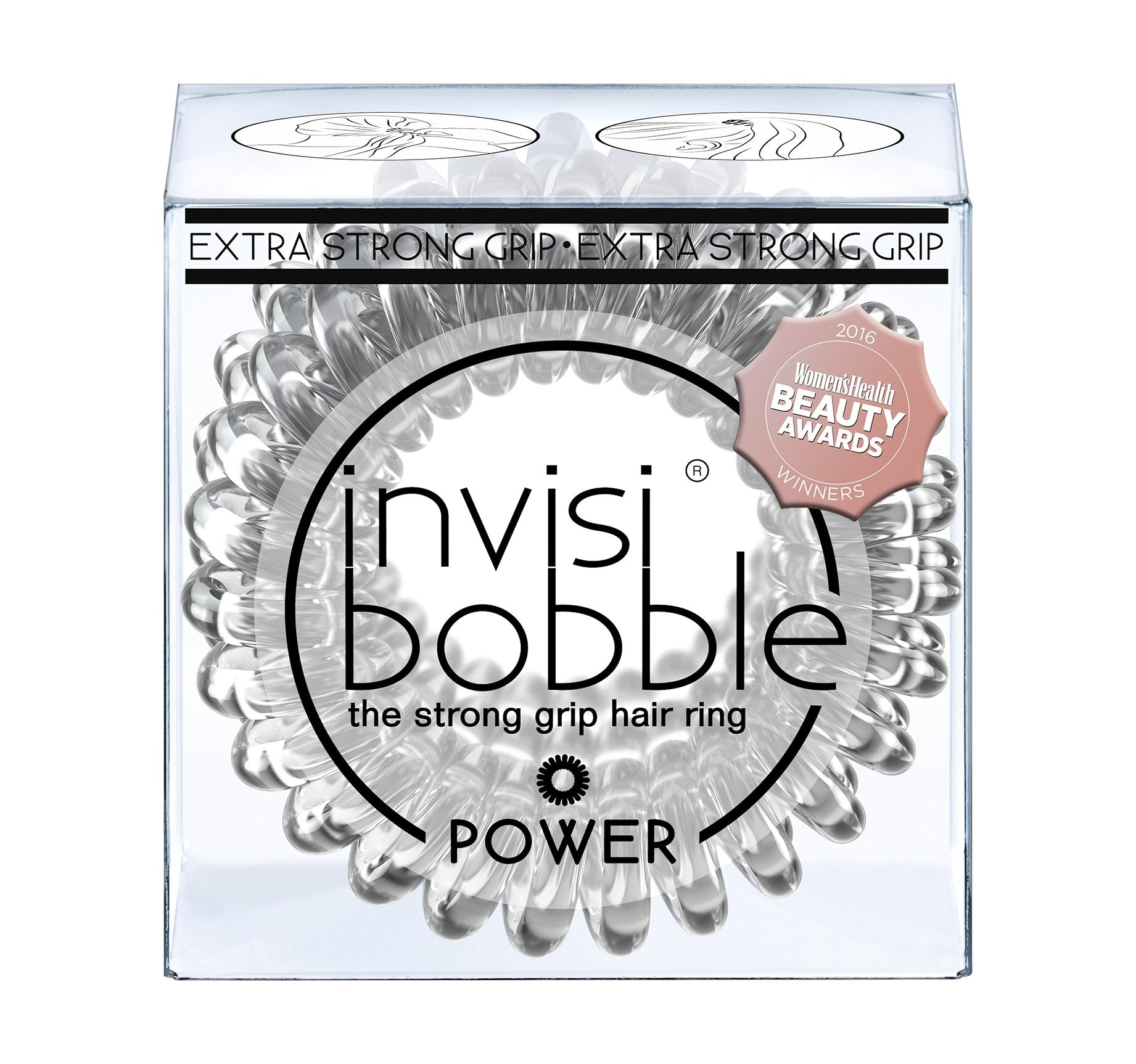 INVISIBOBBLE® POWER - CRYSTAL CLEAR, view larger image