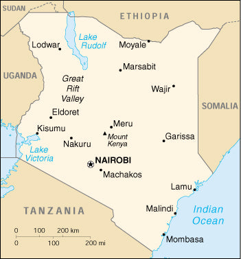 How does a container get to Kisumu, Kenya once it arrives from the Kenya Map Over Usa on map of usa with states and cities, satellite over usa, flag over usa, map of sw usa, marijuana legalization map usa, plane over usa,