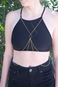 Golden Body Chain
