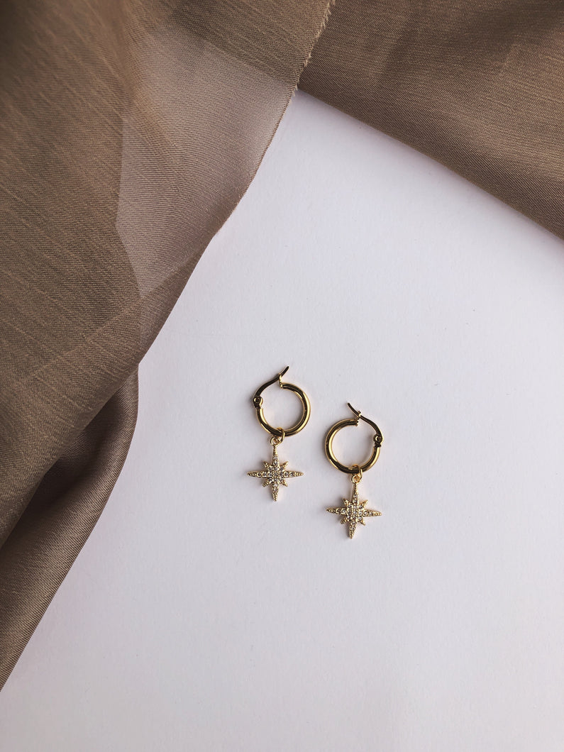 Tiny Sparkle Earrings