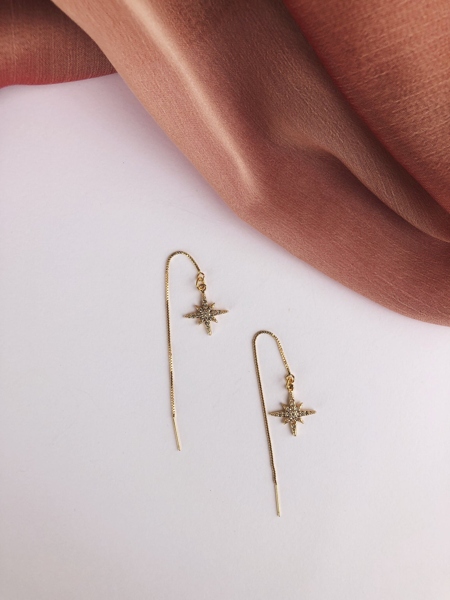 Sparkle Threader Earrings