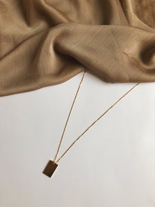 The Minimal Necklace