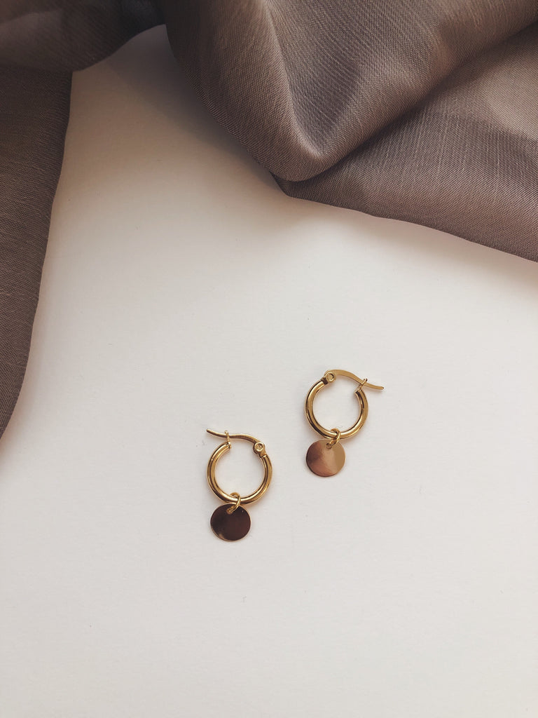 Sun Kissed Hoops