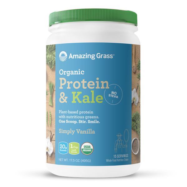 "Amazing Grass - Protein & Kale ""Simply Vanilla"""