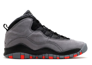 "Air Jordan X (10) ""Cool Grey"" GS"