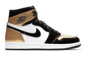 "Air Jordan I (1) OG NRG ""Gold Toe"""