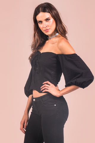 Blusa Magic Hour Preto