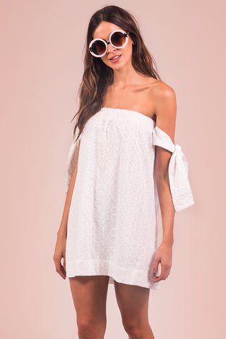 Vestido French Off-White