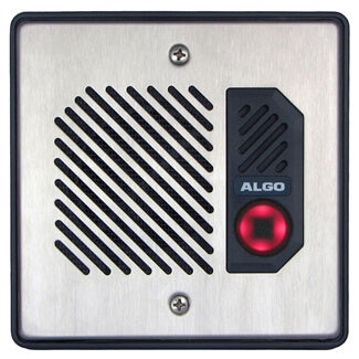 Algo 8028 SIP Doorphone & Intercom with Secure Door / Gate Control Relay - Easy Retrofit Solution for Analog Systems